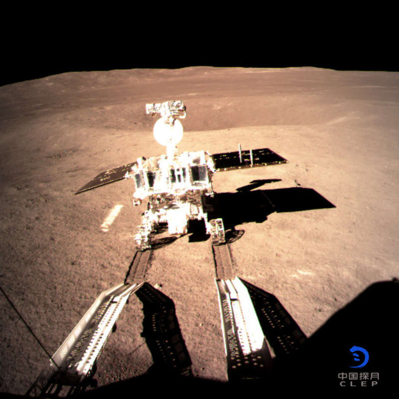 Yutu 2 on the Farside