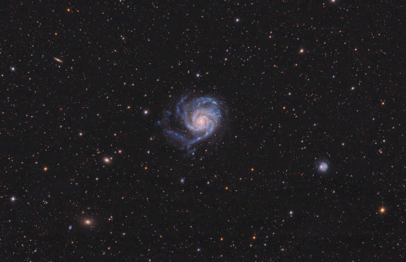 A View Toward M101