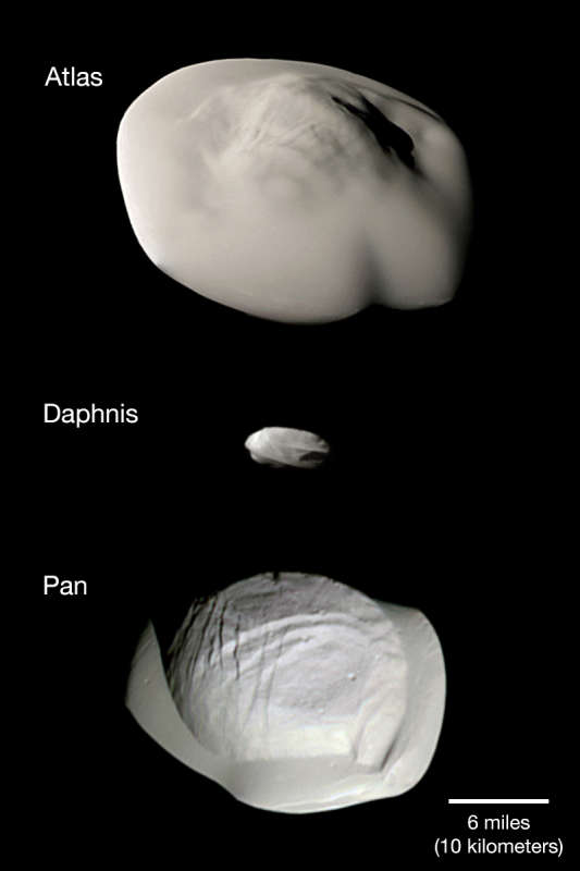 Atlas,  Dafnis i Pan
