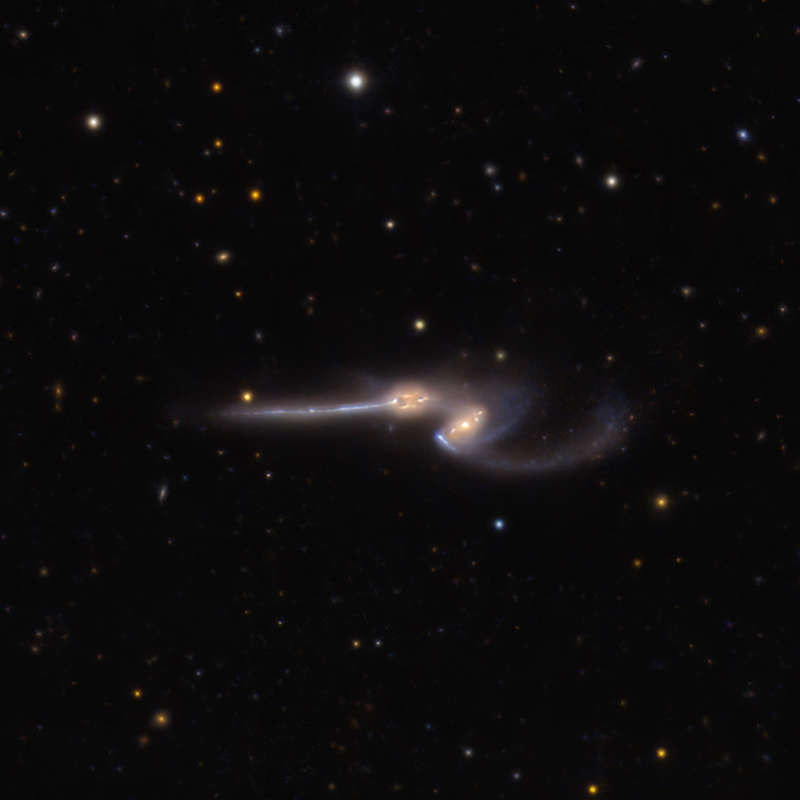 NGC 4676: The Mighty Mice