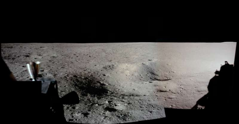 Apollo 11 Landing Panorama