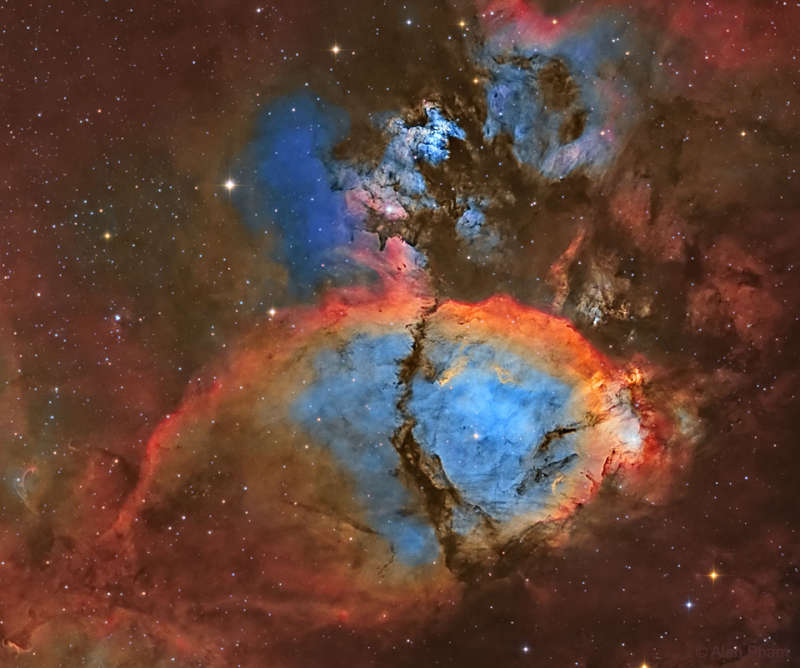 IC 1795: The Fishhead Nebula