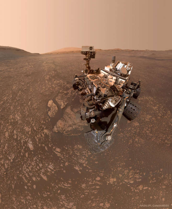 Curiosity Rover Finds a Clay Cache on Mars