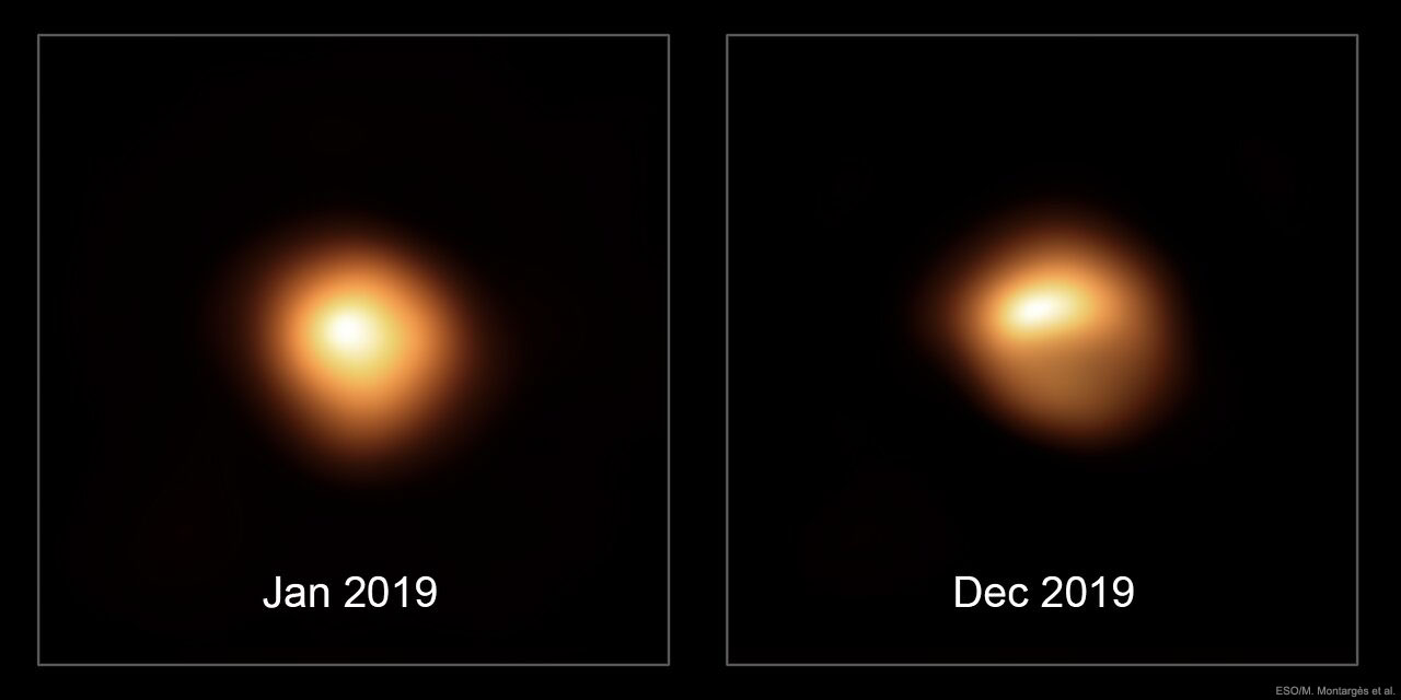 The Changing Surface of Fading Betelgeuse