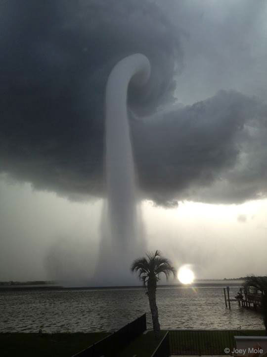 A Waterspout in Florida