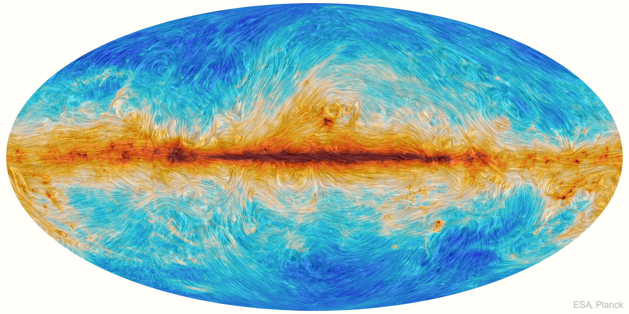 Magnetic Streamlines of the Milky Way