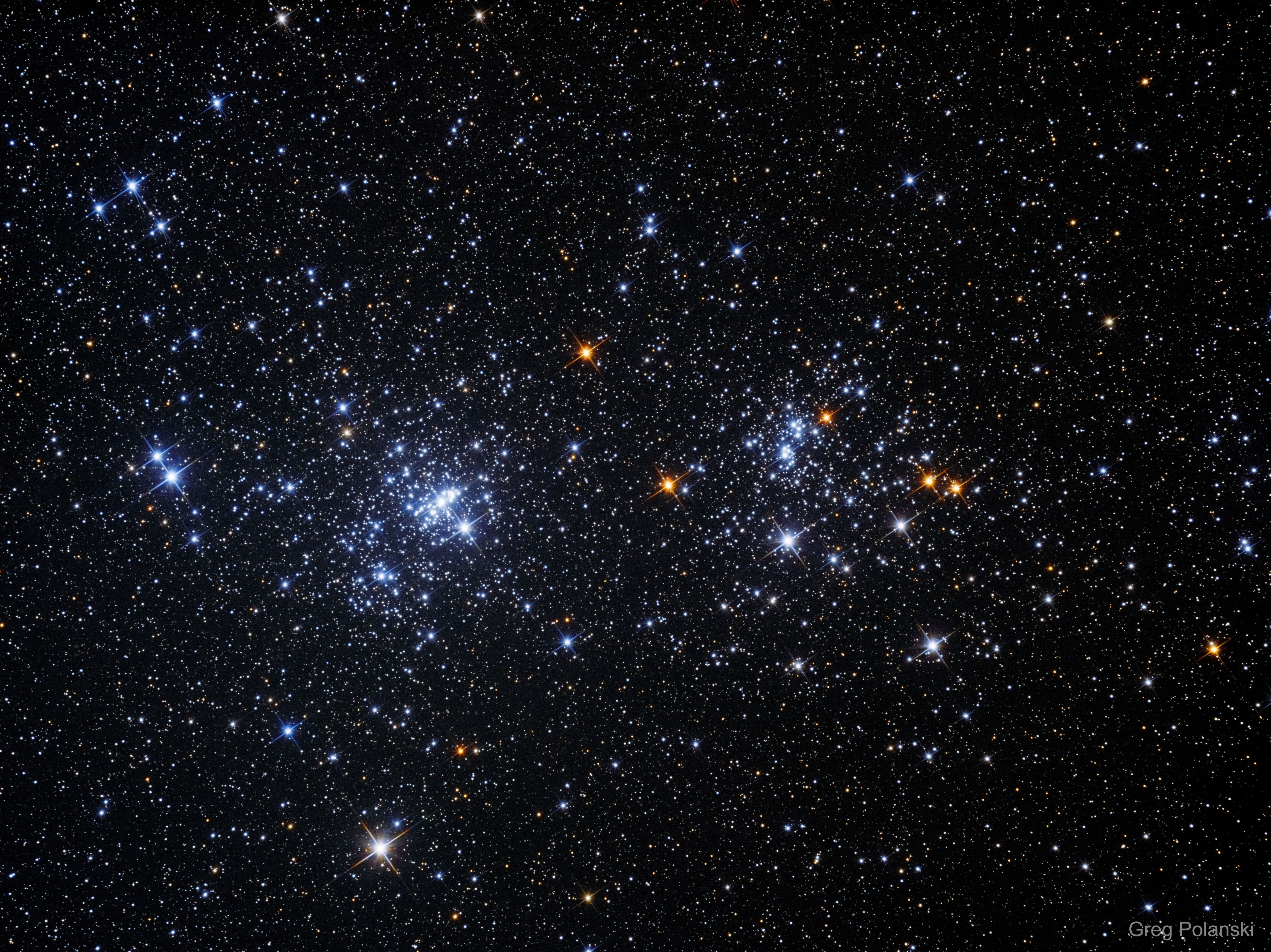 A Double Star Cluster in Perseus