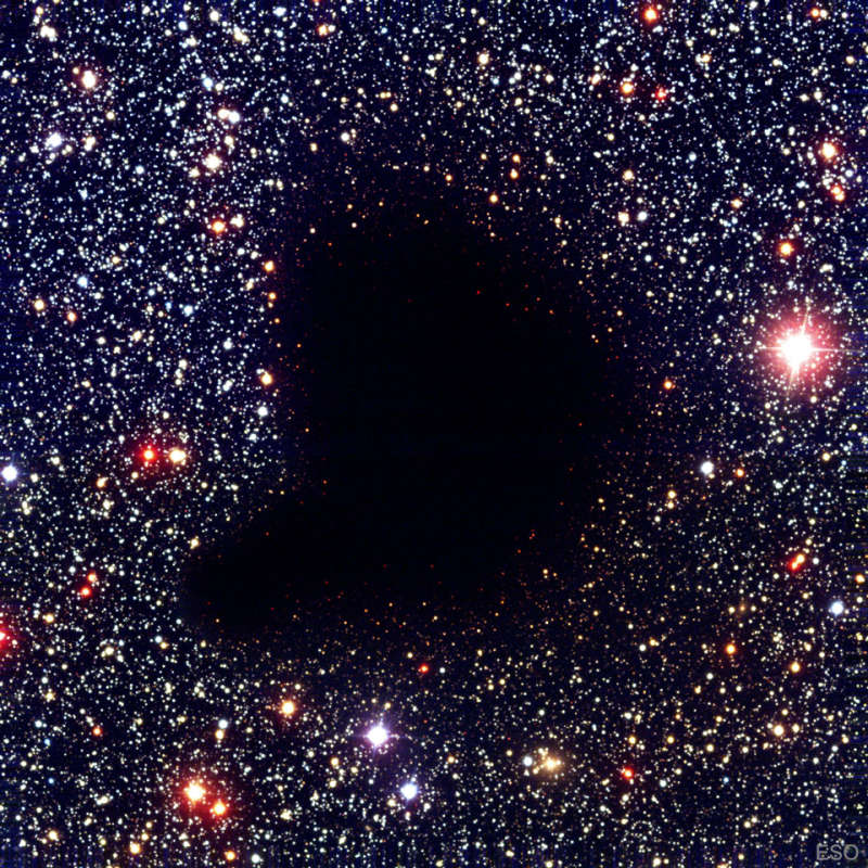 Dark Molecular Cloud Barnard 68