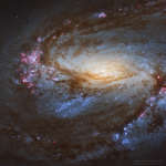 Messier 66 Close Up